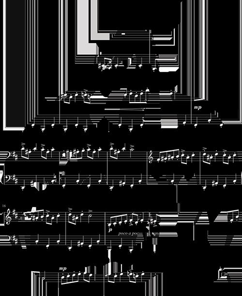 Music Dragon Silhouette