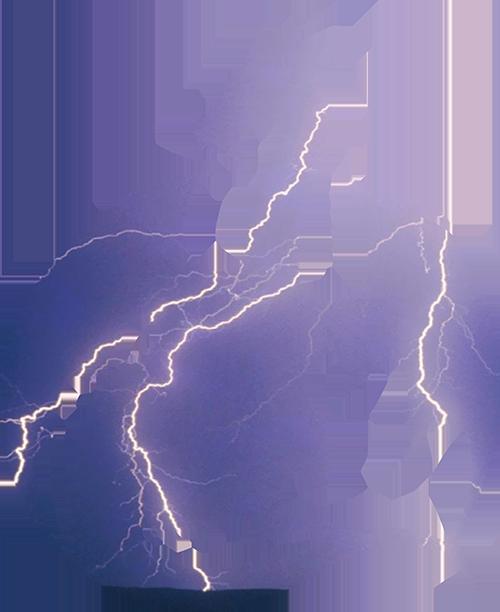 Storm Dragon Silhouette