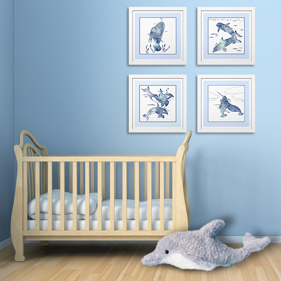 Ocean Theme Nursery Decor