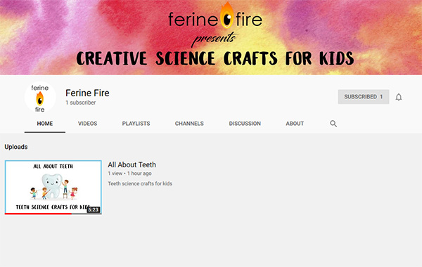 Ferine Fire YouTube Channel