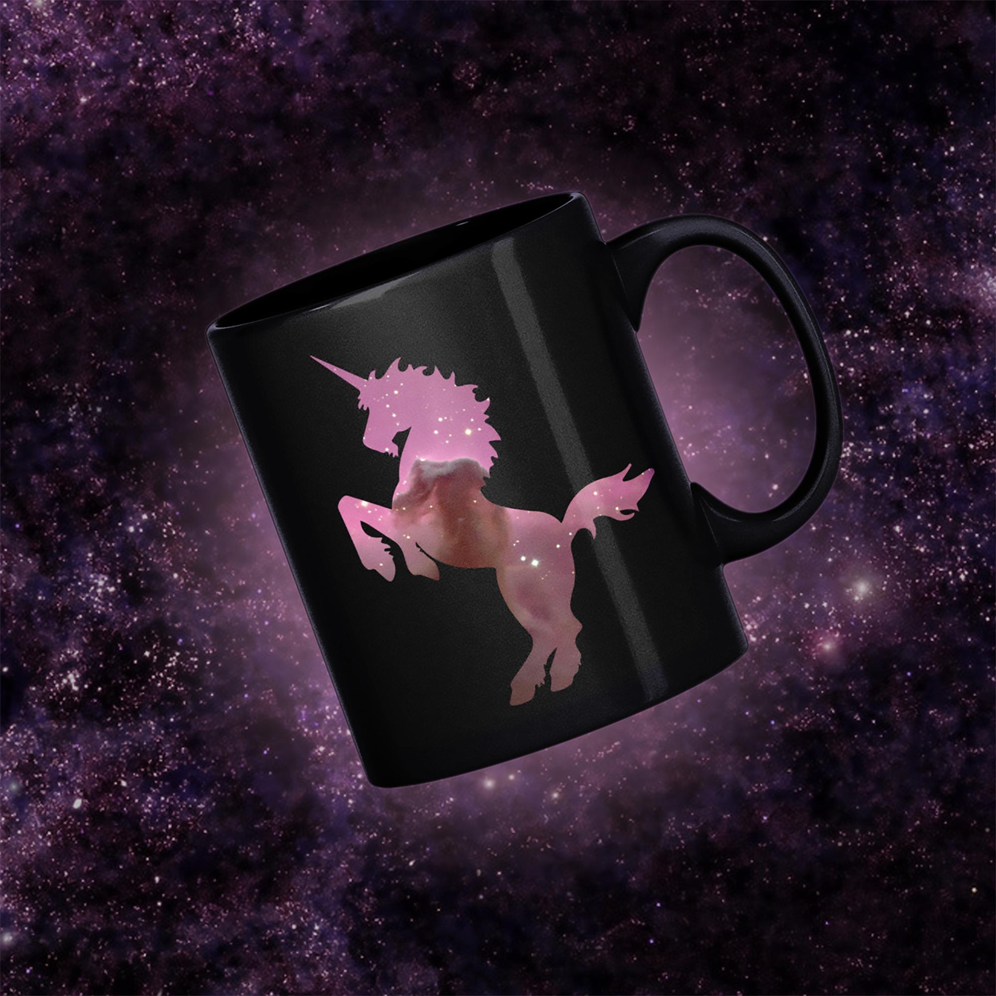 Horsehead Nebula Unicorn Mug